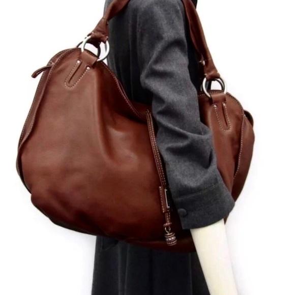 Celine Handbags - 🌺Beautiful🌺 Céline LG Burgundy Bittersweet Hobo 15e3bd9d12ba7